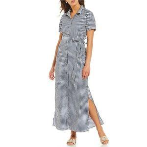 Sanctuary NWOT Blue Dawn Maxi Dress Size XS